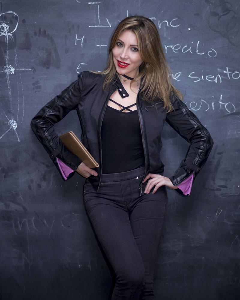 Book de actriz por Manuel Trigo, A Cámara producciones.